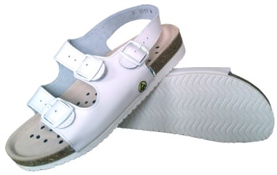 ESD shoes Santé with back strap ladies