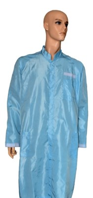ESD jacket ¾, white / blue, type ESDC3137