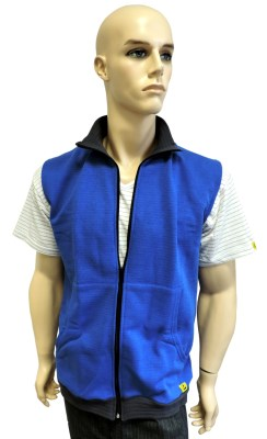 ESD vest type ESD204, royal blue