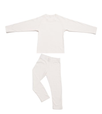 Pyjama set, cuffless sleeve