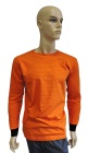 ESD T-shirt long sleeves type ESD111, orange