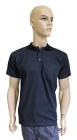 ESD polo short sleeves type ESD140, dark blue