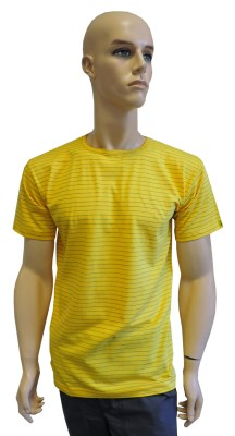 ESD T-shirt short sleeves type ESD101, yellow