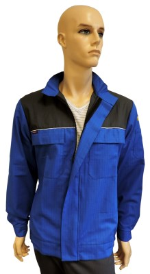 ESD jacket modern type ESD611, royal blue