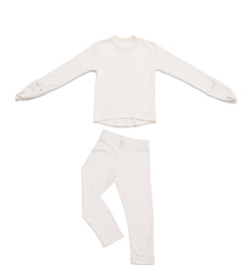 Pyjama set, gloves integrated