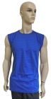 ESD T-shirt sleeveless type ESD121, royal blue