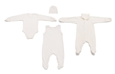 Baby kit (body suit, stretchie, overall and hat)