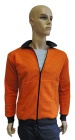 ESD sweatshirt, pocket & zip fastening type ESD203, orange