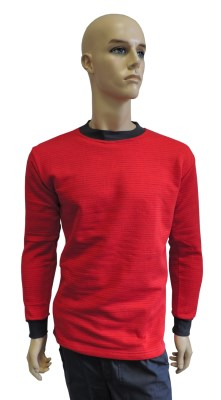 ESD sweatshirt clasic type ESD201, red