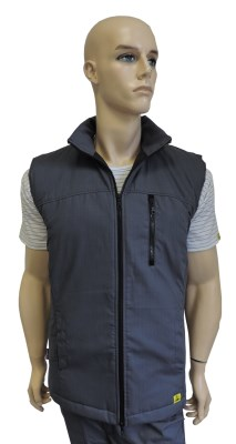 ESD insulated vest type ESD214, anthracite