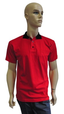 ESD polo short sleeves type ESD140, red