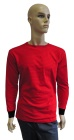ESD T-shirt long sleeves type ESD111, red