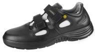 ESD footwear with steel toe ABEBA 31036