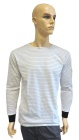 ESD T-shirt long sleeves type ESD111, white