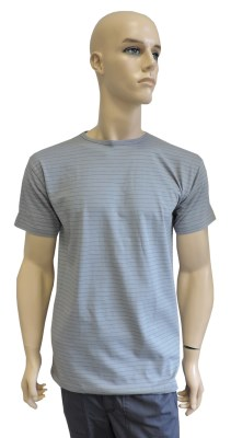 ESD T-shirt short sleeves type ESD101, grey