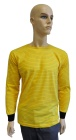 ESD T-shirt long sleeves type ESD111, yellow