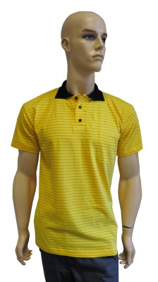 ESD polo short sleeves type ESD140, yellow