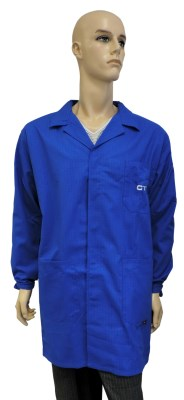 ESD coat clasic type ESD501, royal blue