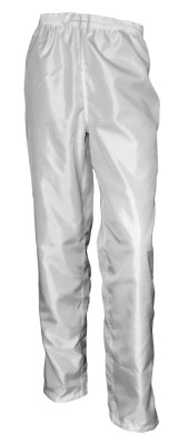 ESD pants UNI, white / blue, type ESDC4018