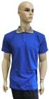 ESD polo short sleeves type ESD140, royal blue