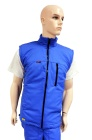ESD insulated vest type ESD214, royal blue