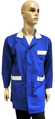 ESD coat advanced type ESD502, royal blue