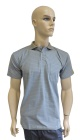 ESD polo short sleeves type ESD140, grey