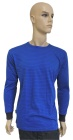 ESD T-shirt long sleeves type ESD111, royal blue